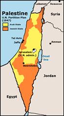 UN 1947 partition plan for Palestine