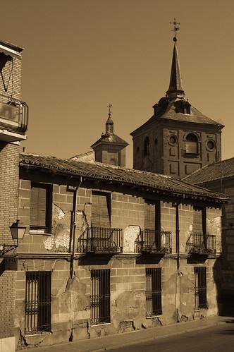 Casa abandonada junto al Colegio de Málaga (I)