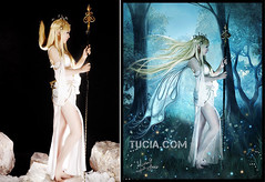 Fantasy Garden Goddess by Tucia