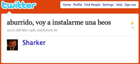 sharker - twitter