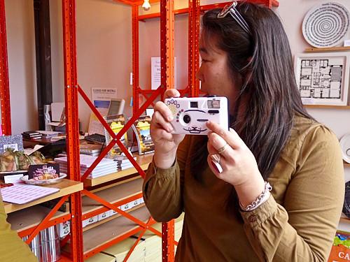 the meowing Holga camera