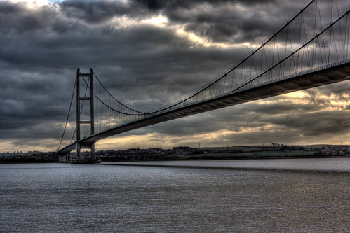 Humber Bridge HDR by Graham Warsap.