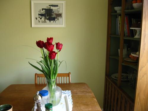 Springtime kitchen