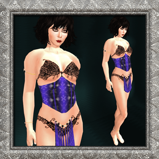 Courtesan Purple by Silk & Satyr