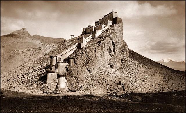 Kampa Dzong, Tibet [1904] John C. White [RESTORED]
