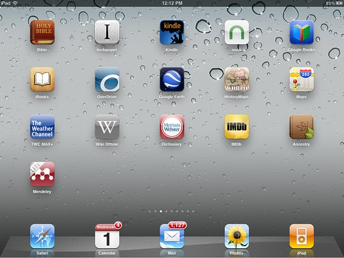 IPad 2 Screen 2
