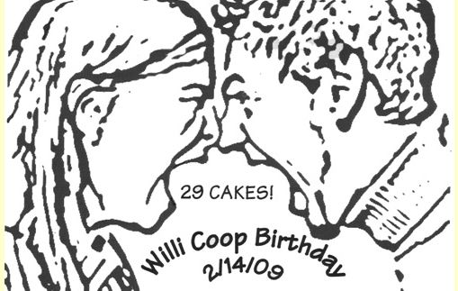 29 Cakes for Willi Co-Op Birthday