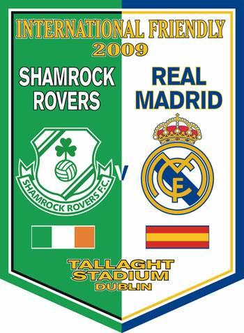 Shamrock Rovers F.C. - Real Madrid C.F.