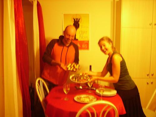Dinner in Quebec
