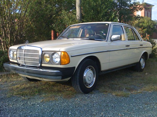 1981 Mercedes 240D