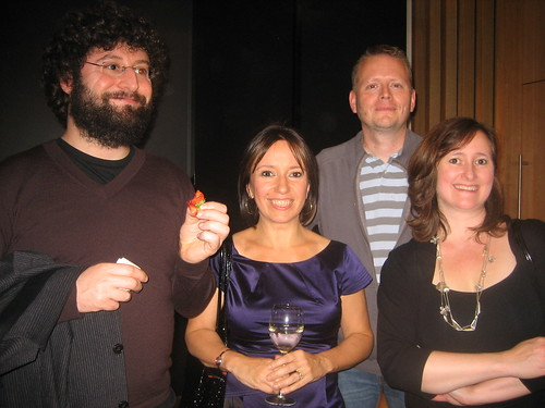 Andy Stanton, Fiona Dunbar, Patrick Ness and Lee Weatherly
