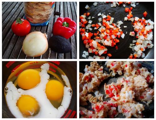 veggies 'n eggs