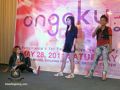 2NE1 cover group performs in Ongaku Gayo