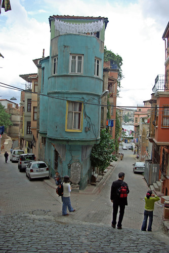 Balat streets and old houses, Balat Fener Istanbul, pentax k10d