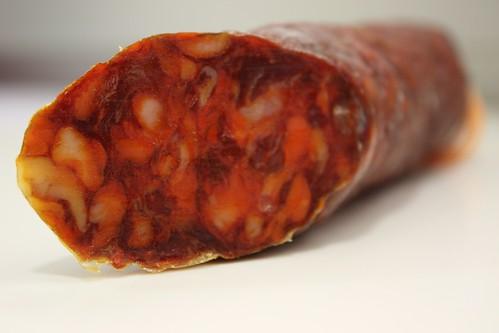 Detalle del Corte del Chorizo Magno