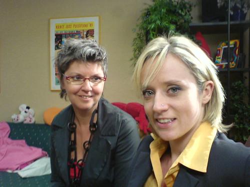 Met Femke, op Nancy's appartement
