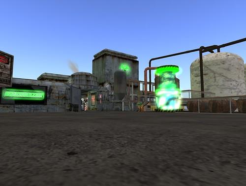 NDN Got a Sim! Come Visit Us! First Cybergoth Community in SL!