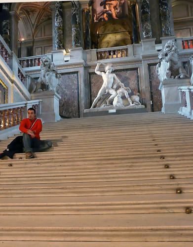 Stairs at the Kunsthistorisches Museum 54/365
