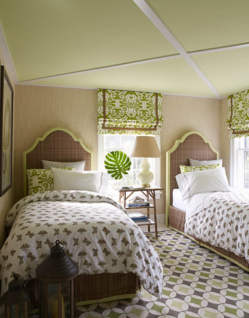 cottage twin beds
