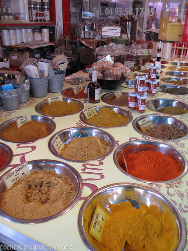 Spice Stall in France