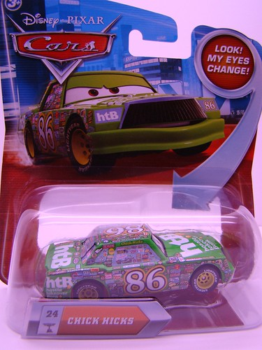 Disney CARS Lenticular Chick Hicks