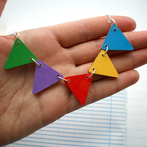 Lucie Ellen Necklace Bunting Carnival