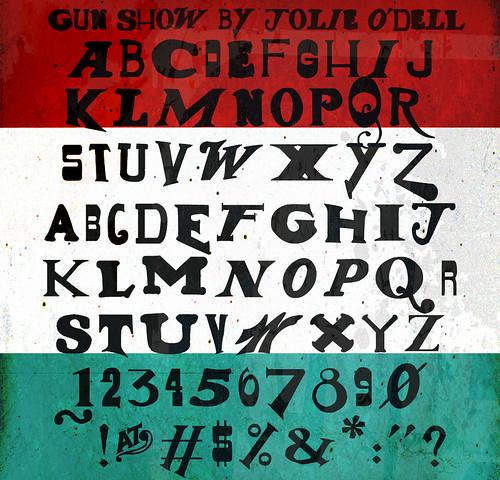Gun Show Font