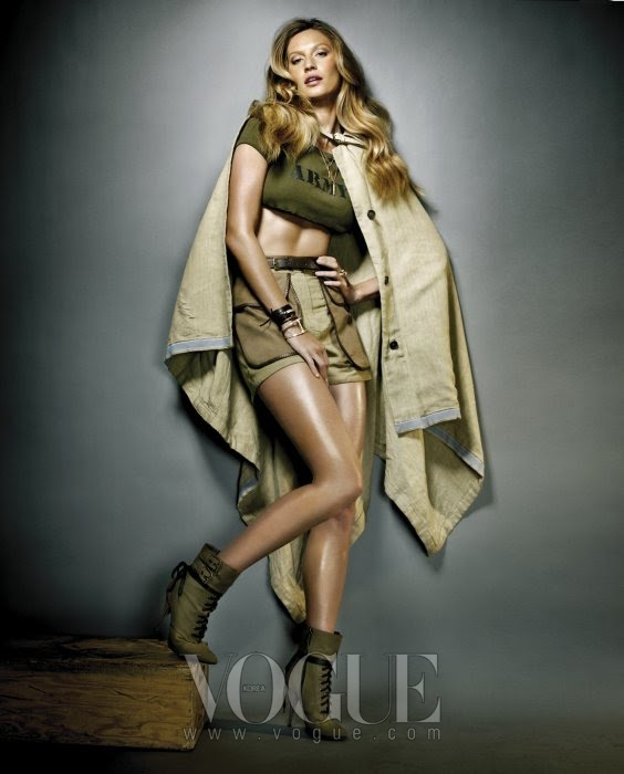 VOGUE  GISELE BUNDCHEN by NINO MUNOZ 2