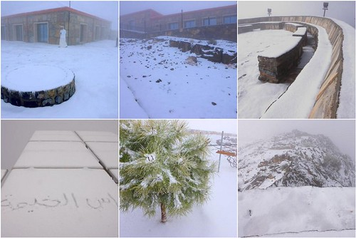 Ras Al Khaimah, UAE Snow