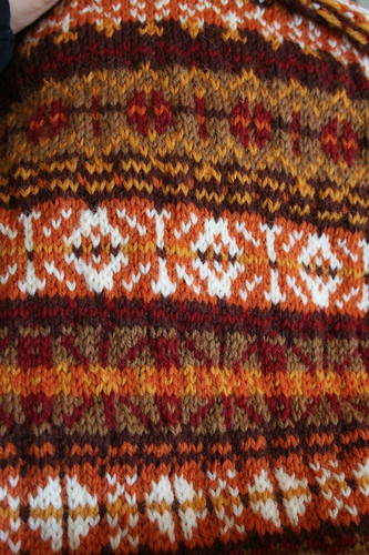 Ongoing Brown Sheep Nature Spun Stashbuster Vest
