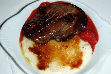 Foie Gras, Strawberry, Hasty Pudding, MyLastBite.com