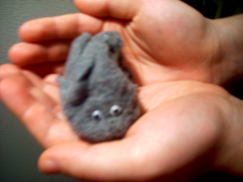 This is Wilfred, he's a lint mouse by you.