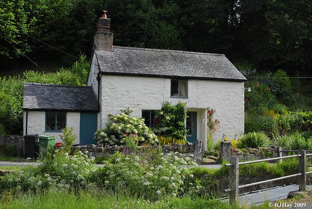A house along the path