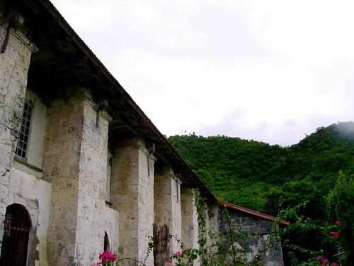 Boljoon Church and its mountain