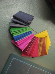 leather colour samples