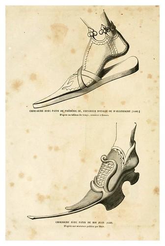 005-Calzado siglo XV-3-Histoire de la chaussure depuis l'antiquité-1862- Paul Lacroix y Alphonse Duchesne