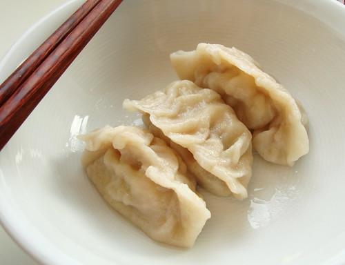 Chinese boiled jiaozi