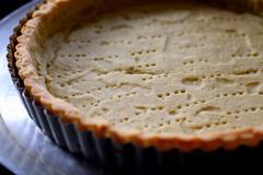 partially baked unshrinkable tart shell