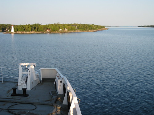 Ferry from Tobermory to South Baymouth