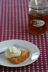 vanilla bean pound cake with kathy's syrup