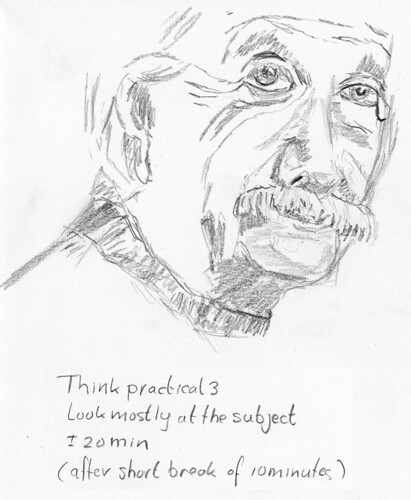 Einstein Sketch 3