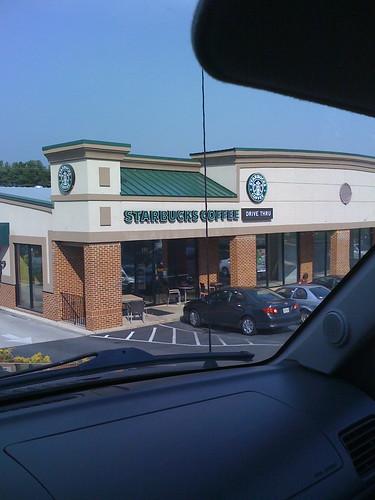 Starbucks, Staunton, VA (No Longer Closing, 2009)