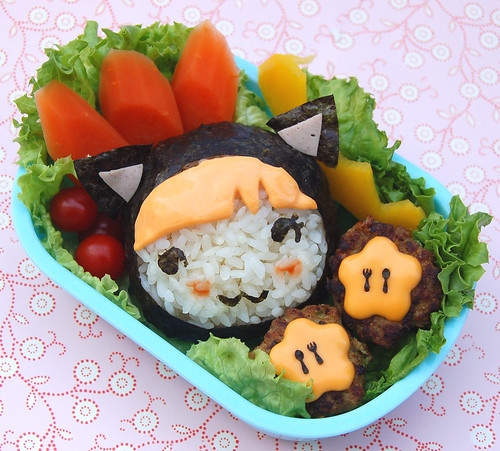 Cat bento - Momiji kitty