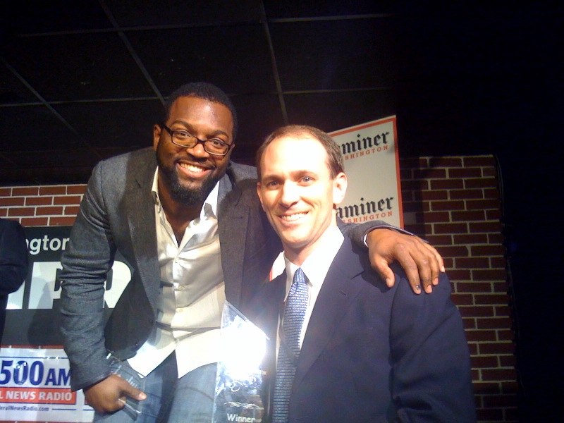 And the winner is... Austen Goolsbee with Baratunde Thurston