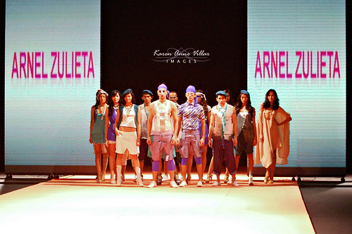 Show was opened by the designs of Arnel Zulieta