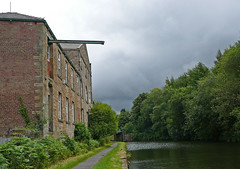 Mill by the Leeds and Liverpool Canal 2