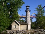 Cedar Point - Paddlewheel Excursions Lite House