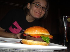Allison wanted dessert... not another burger!