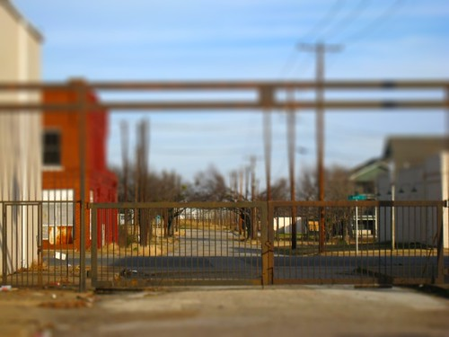 Rahr Brewery Boundry Fence - Tilt Shifted