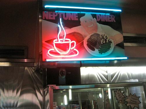 Neptune Diner Sign